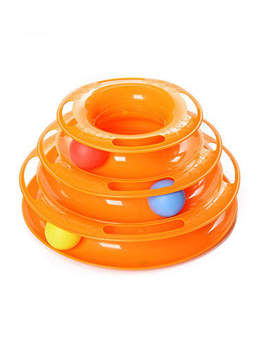 Three Level Cat Toy - SAVE 50% TODAY