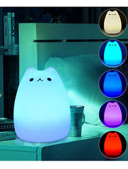 Cat Color Changing Light