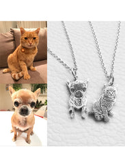 Personalized Cat Necklace - FREE SHIPPING TODAY