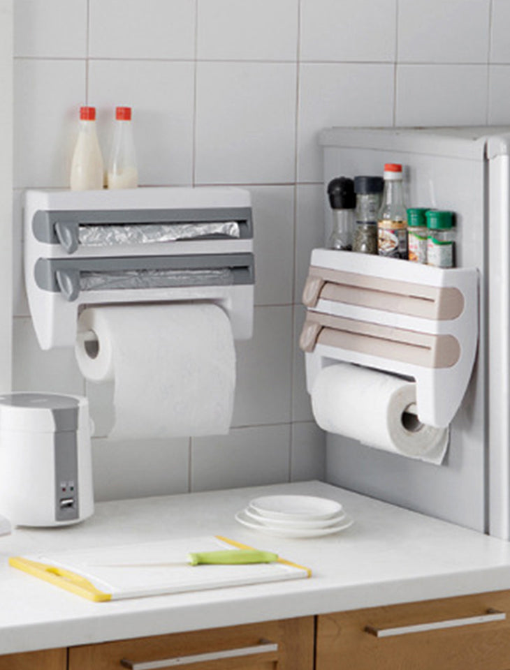 4-In-1 Kitchen Roll Holder Dispenser® - SAVE 50% TODAY