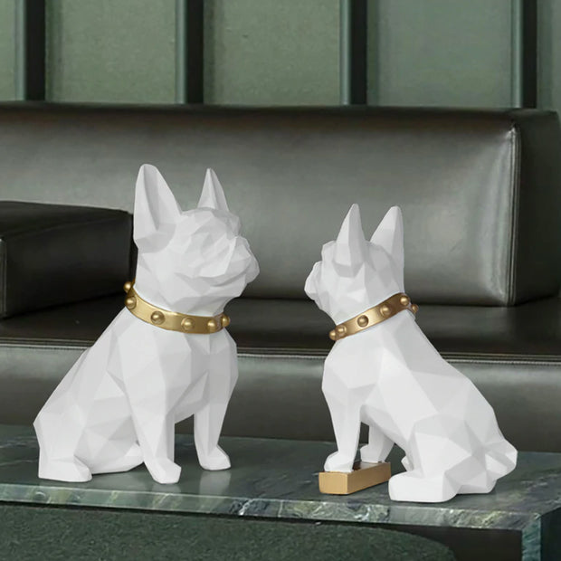 French Bulldog Modern Statue