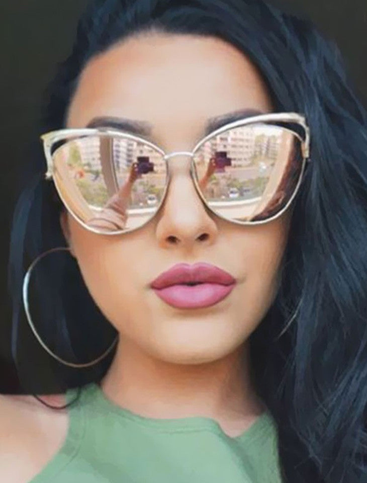 Vintage Cat Eye Sunglasses - SAVE 50% TODAY