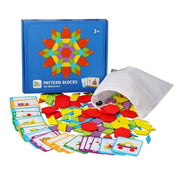 Educational Wooden Pattern Blocks™ - 50% OFF TODAY !