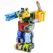 Robot Transformer Number Blocks