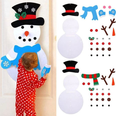 DIY Felt Christmas Snowman Set™