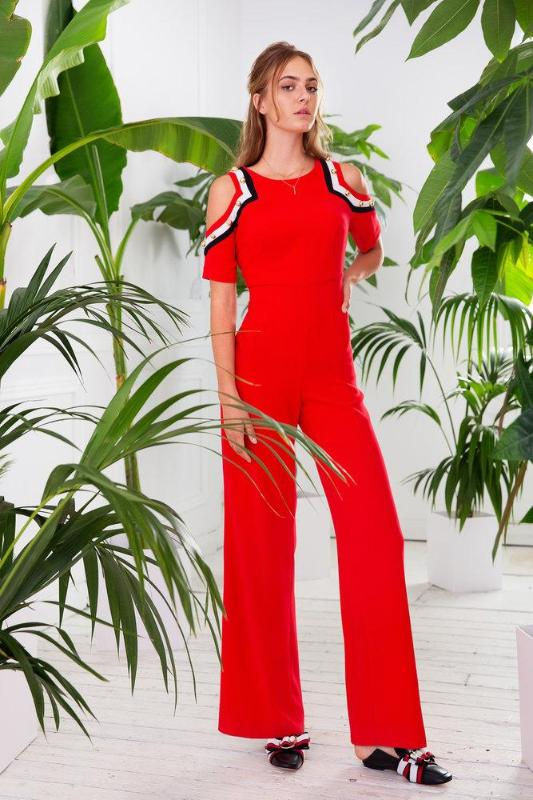 Badoo Red Jumpsuit