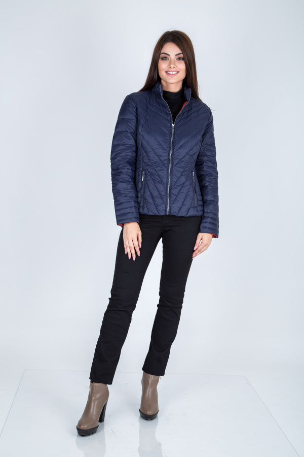 C-Ro Etage Quilted Down Jacket, Navy