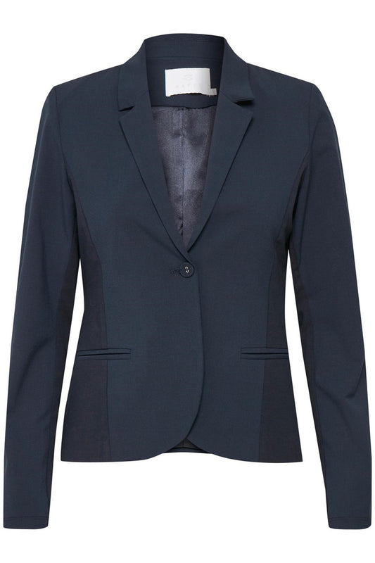 Kaffe Jillian Blazer, Navy - Lutsia Boutique
