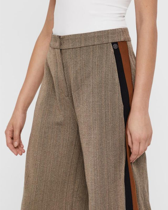 Wide Leg Elisabetta Pants - Lutsia Boutique