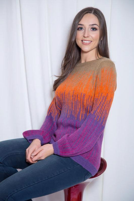 Yolana Stripe Jumper - Lutsia Boutique