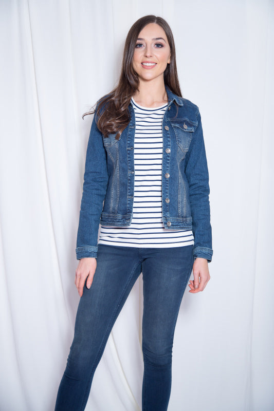 Kaffe Denim Jacket - Lutsia Boutique
