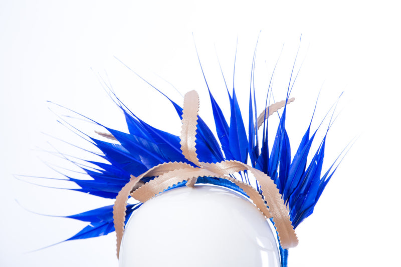 Feather Crown Headpiece
