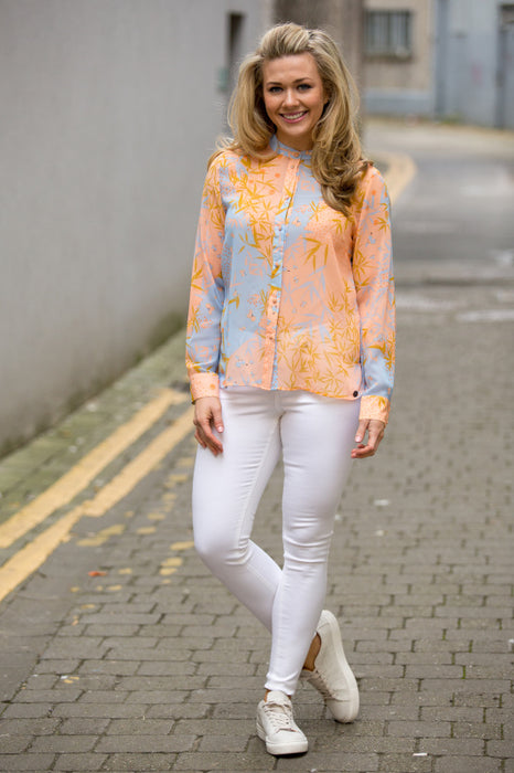 Margo Chiffon Blouse - Lutsia Boutique