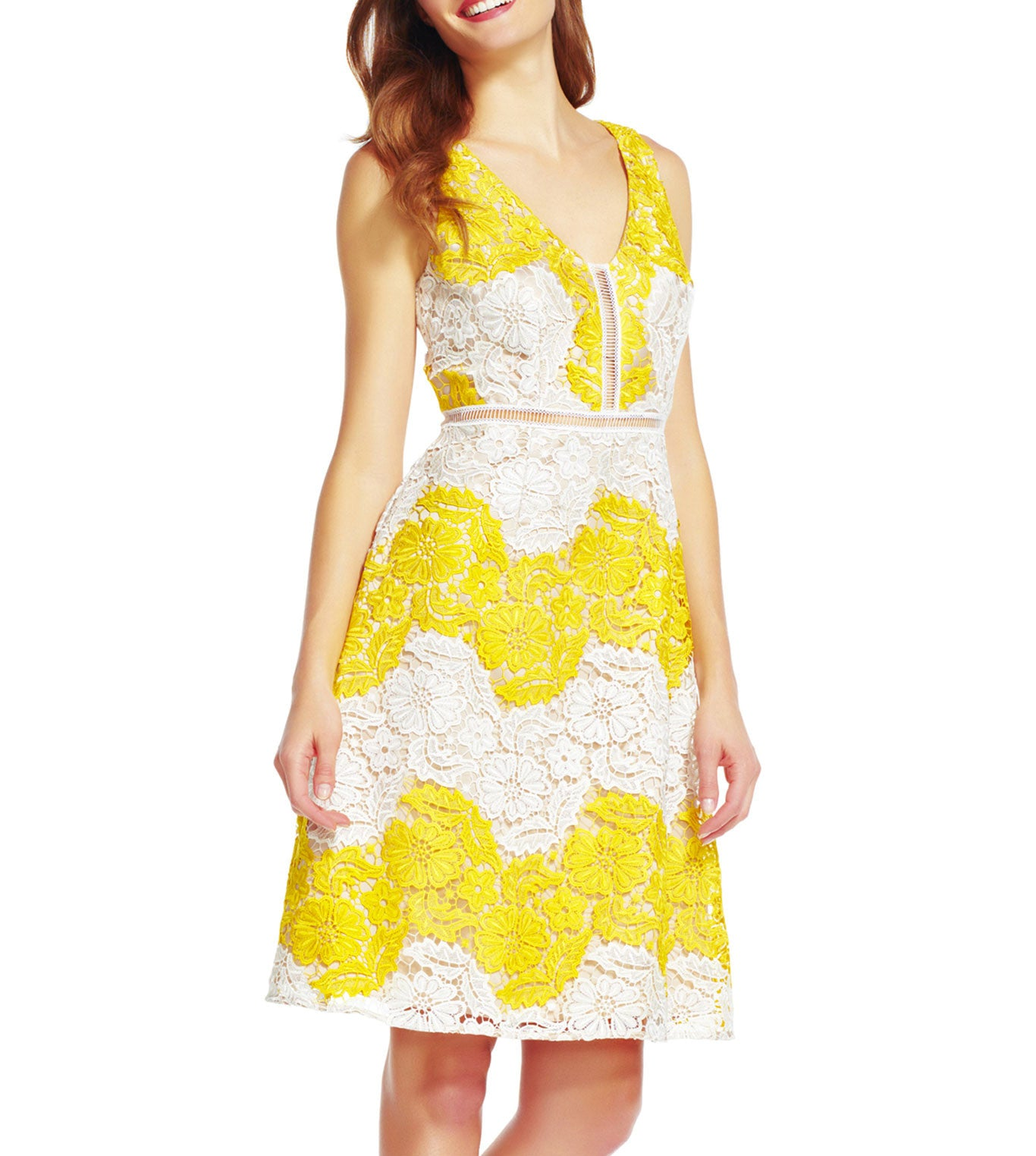 2019 year lifestyle- White and yellow sundress