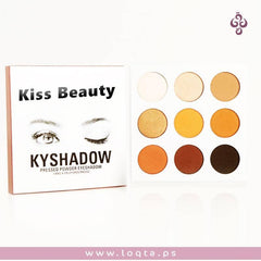 علبة ظلال عيون kiss beauty kbshadow - متجر لقطة - متجر لقطة