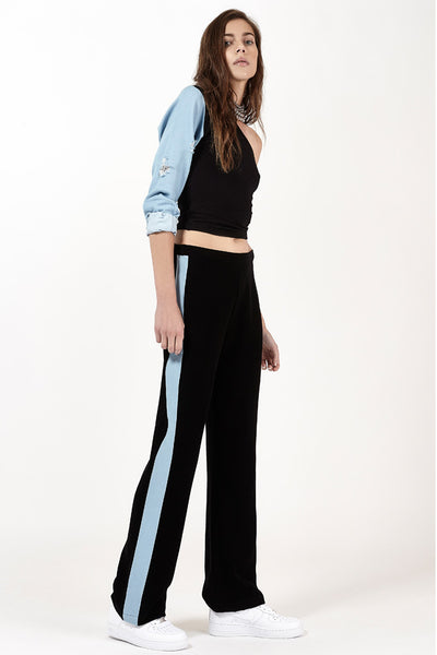 Denim Strip Pants (Light)
