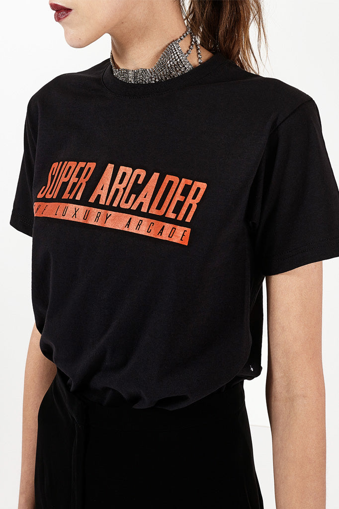 Super Arcader T-shirt Black