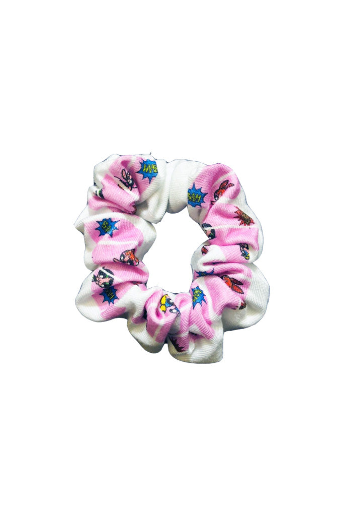 Power Puff Girl scrunchie