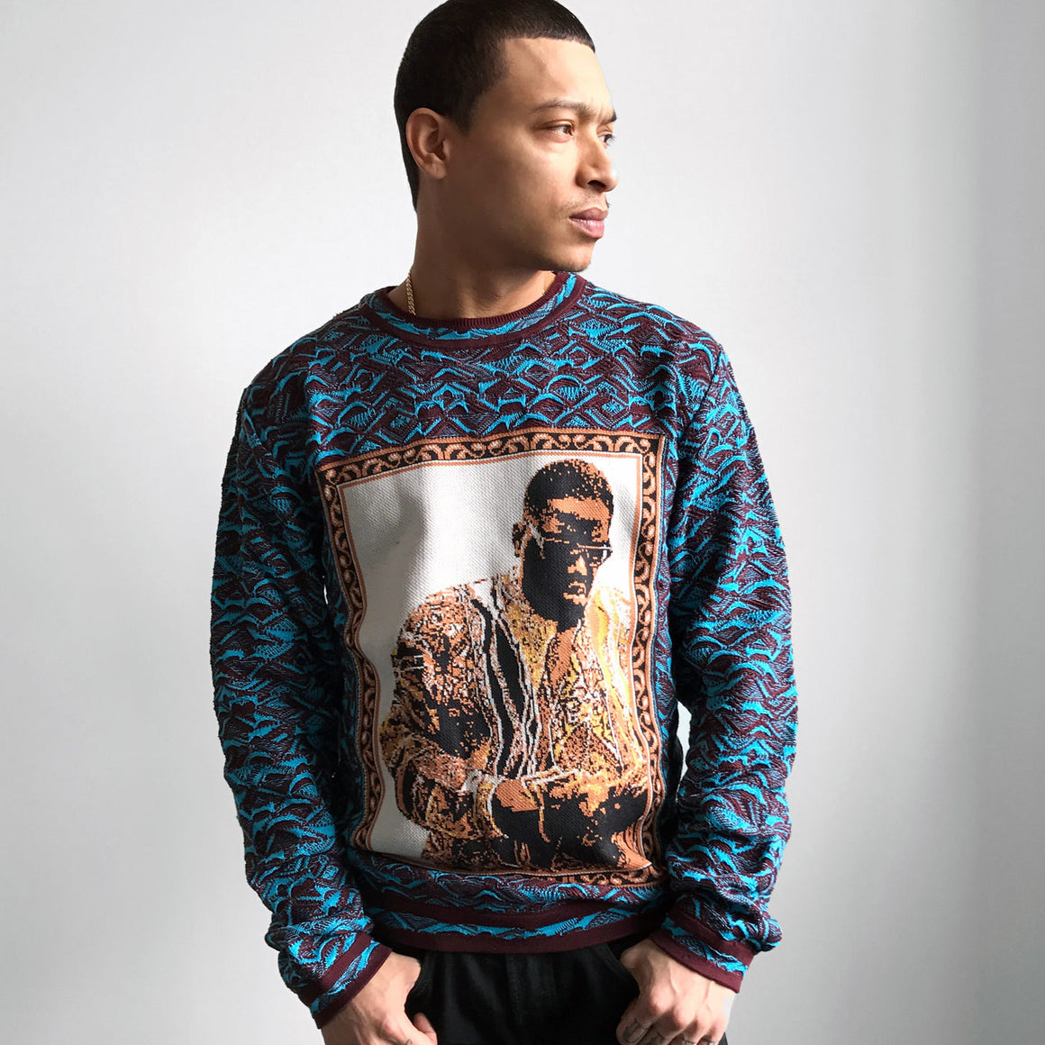 COOGI BIGGIE ART BASEL CREWNECK 3, Ltd. Ed.