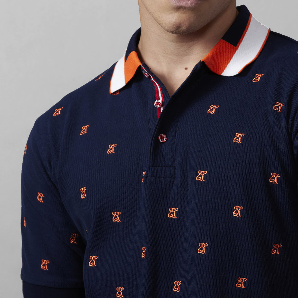 COOGI All Over Koala Polo - Navy