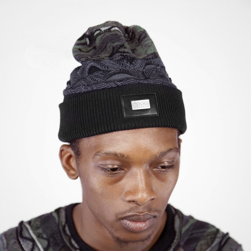 COOGI LEATHER TRIM SKULLY