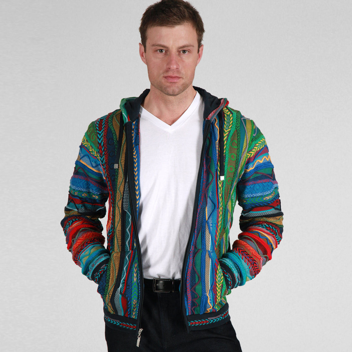 COOGI NEW NATIVE ZIP HOODY