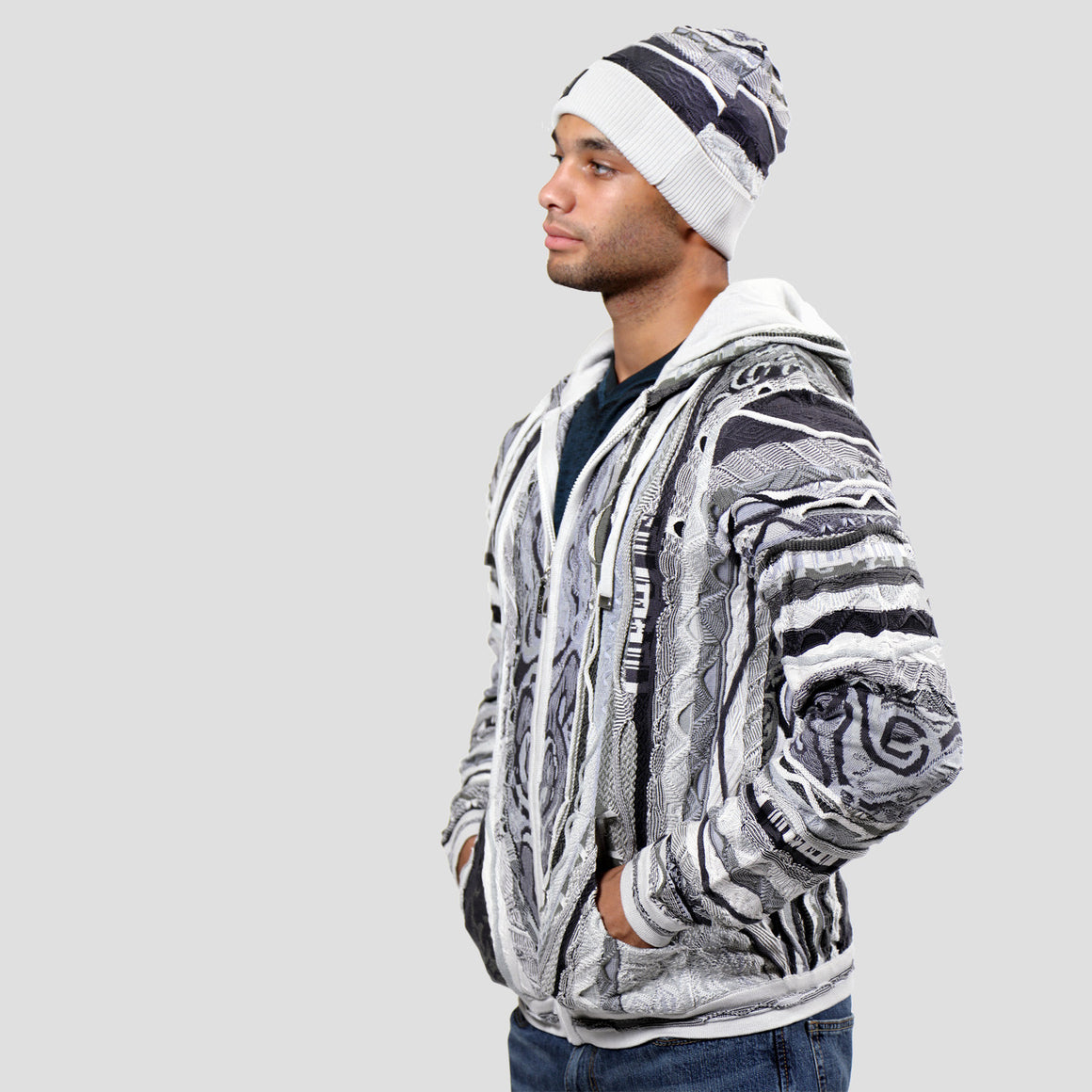 COOGI NOTORIOUSS ZIP HOODY