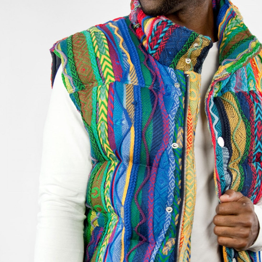 COOGI NEW NATIVE DOWN VEST