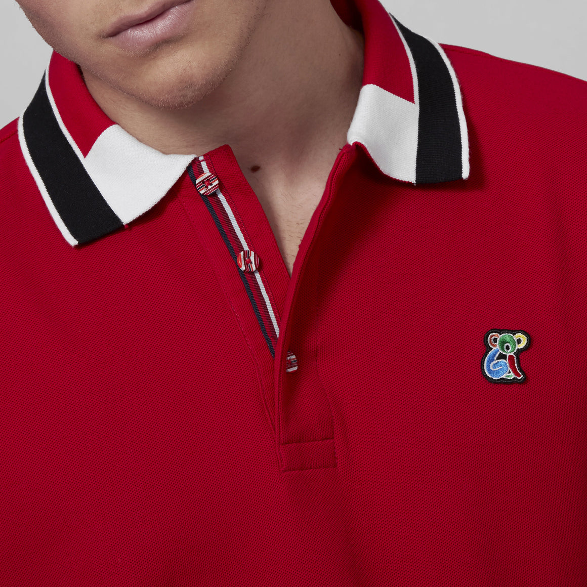 COOGI Koala Logo Polo - Red