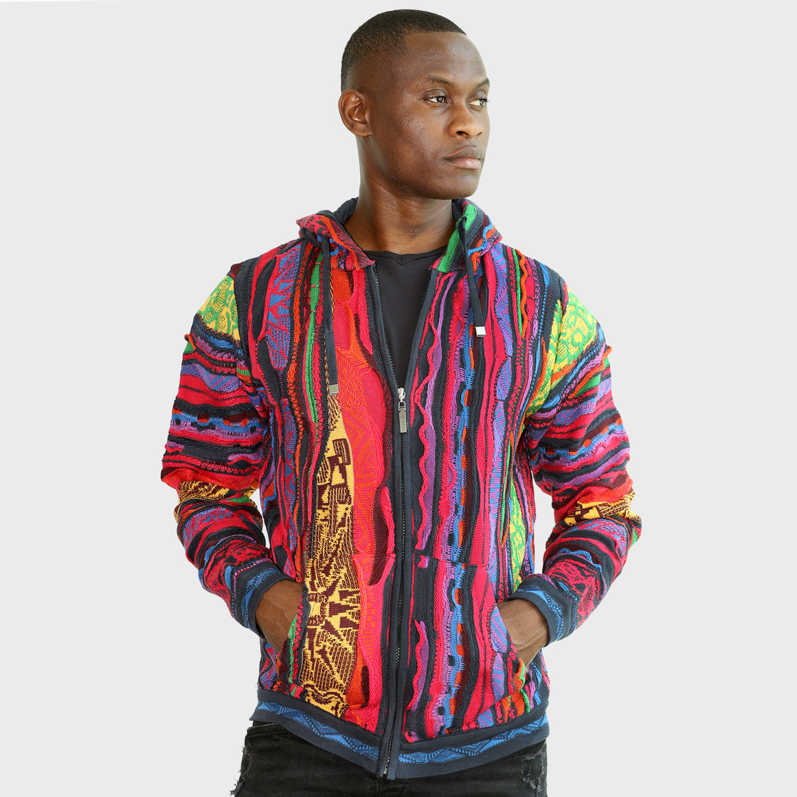 COOGI TRIBAL ZIP HOODY