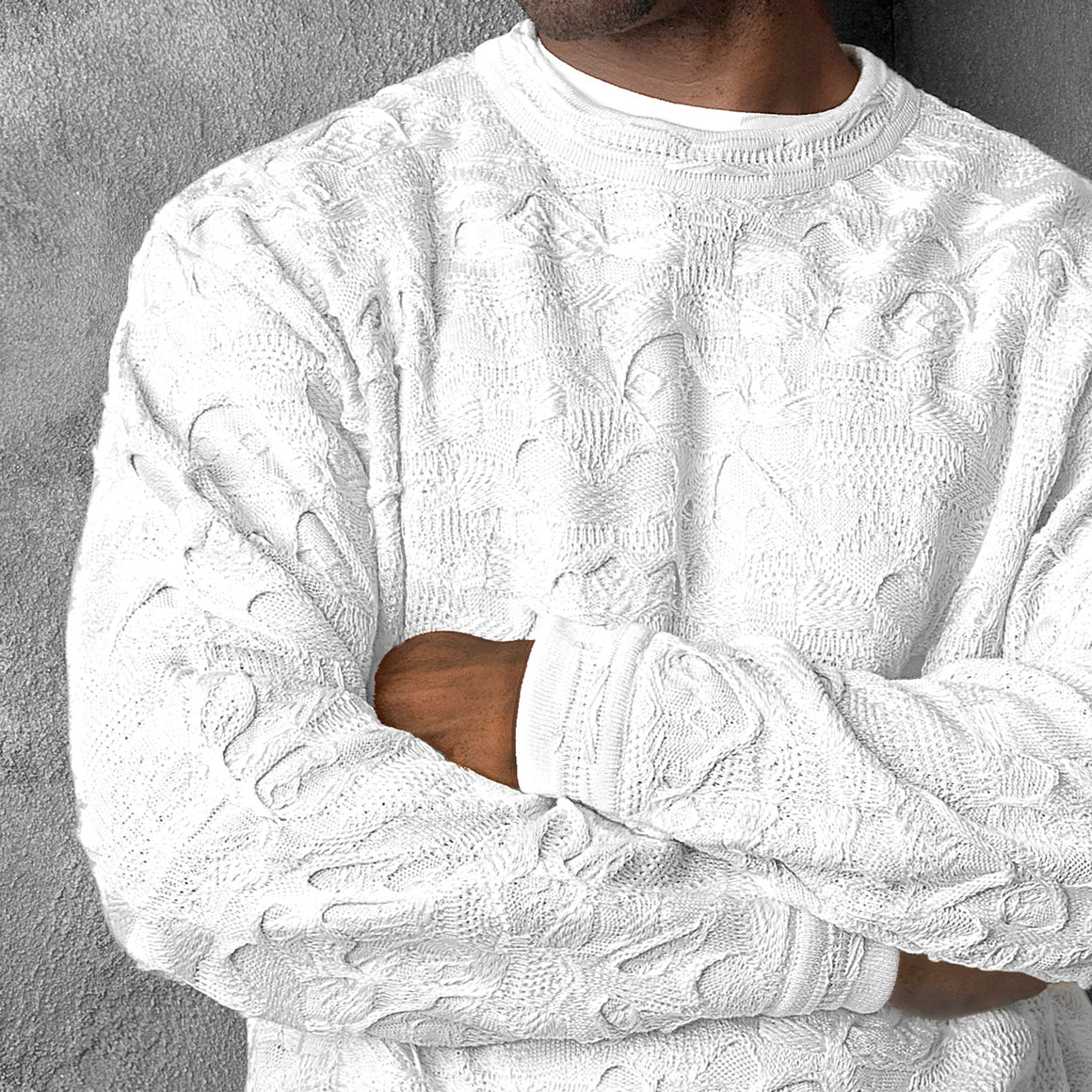 NEW - COOGI WHITEOUT CREWNECK, SPECIAL EDITION