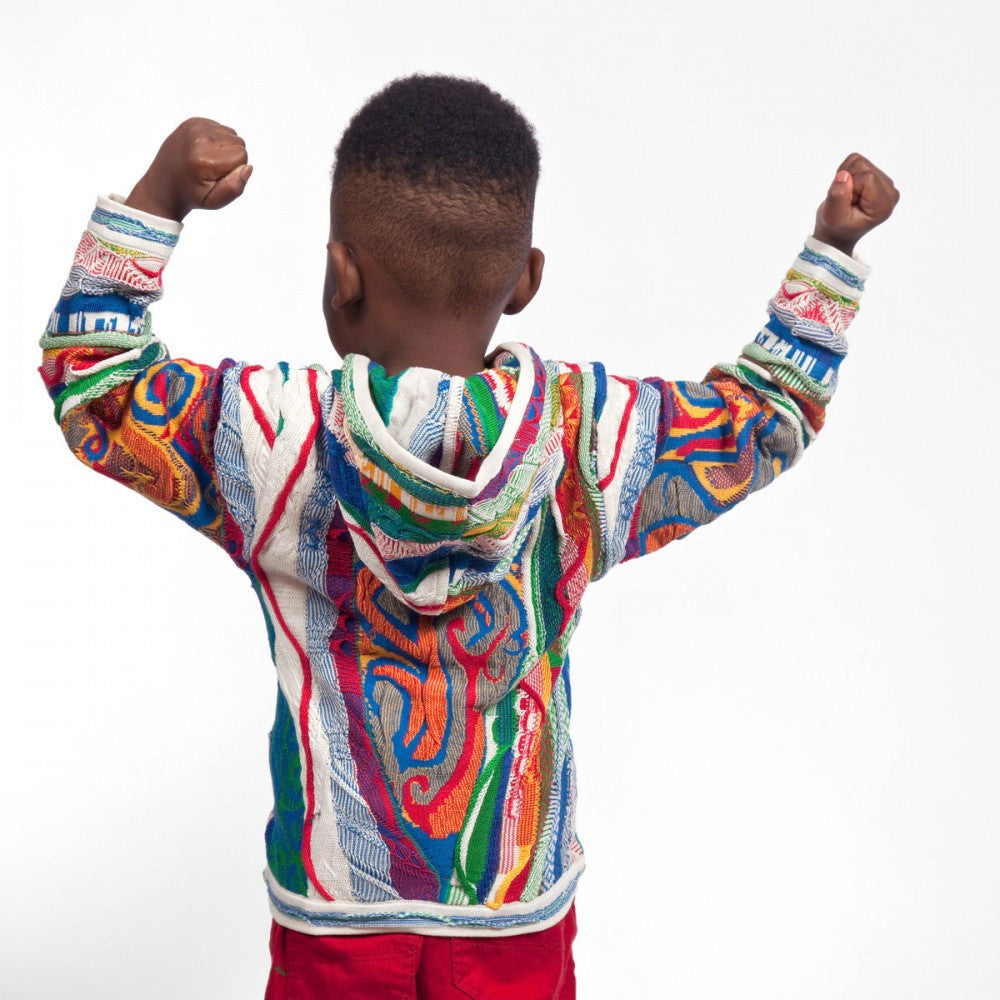 COOGI CLASSIC ZIP HOODY FOR KIDS