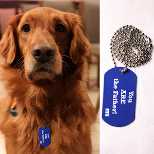 Maury Dog Tag Necklace