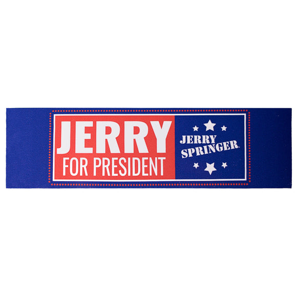 Jerry for President Sticker