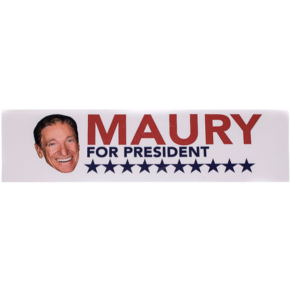 Maury for President Sticker
