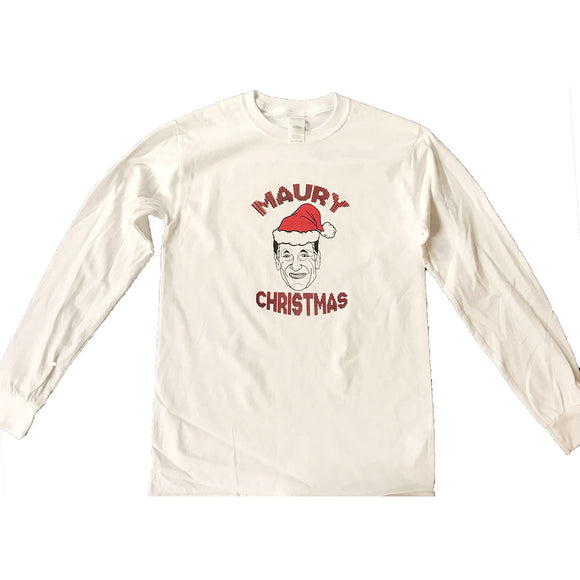 MAURY Christmas Long-Sleeve T-shirt