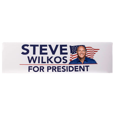 Steve Wilkos for President Sticker