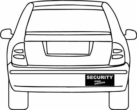 Jerry Security : Bumper Stickers