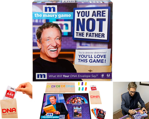 The Maury Game: You are Not The Father - AUTOGRAPHED