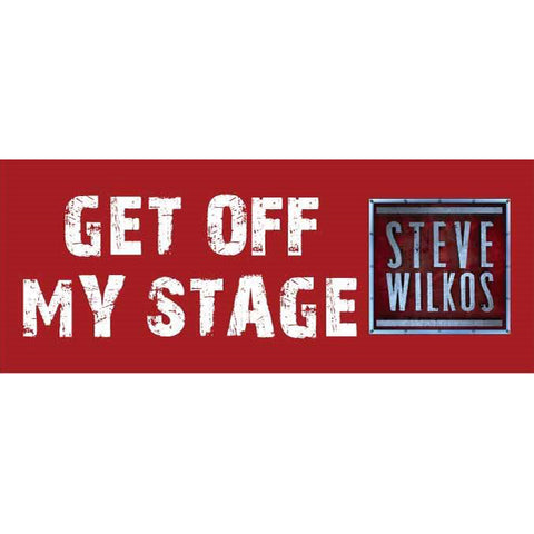 Get Off My Stage Sticker