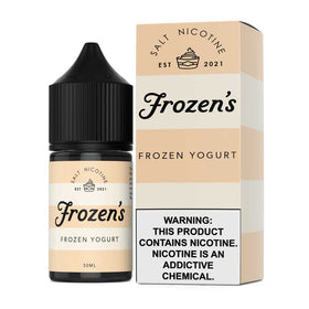 Frozen's Salt E-Liquid - Frozen Yogurt - 30ml