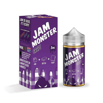 Jam Monster E-Liquid - Grape - 100ml