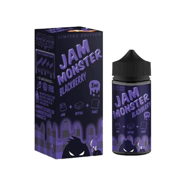 Jam Monster E-Liquid - Blackberry - 100ml