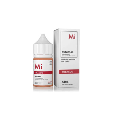 MiNiMAL Salt E-Liquid - Tobacco - 30ml