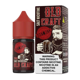 Old Craft Salt E-Liquid - Root Beer - 30ml