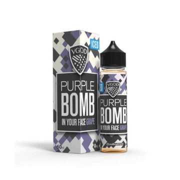 VGOD E-Liquids - Iced Purple Bomb - 60ml
