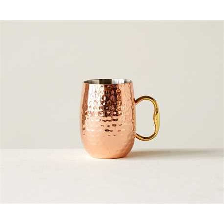 Set of Copper Mugs