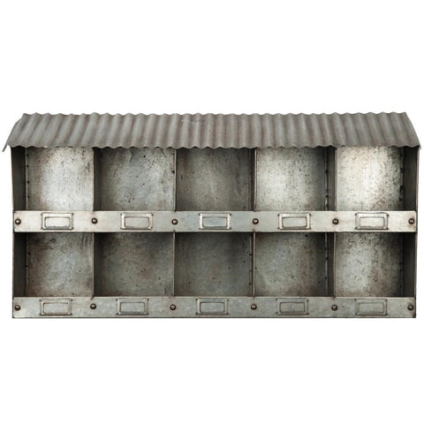 Galvanized Nesting Box