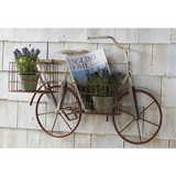 Bicycle Wall Hanger with Planters