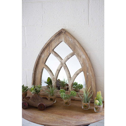 Farmhouse Church Mirror